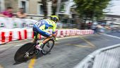 The Cyclist Matteo Tosatto