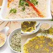 Arab Middle Eastern Food Collage