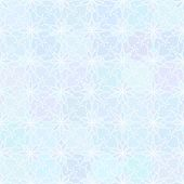 Abstract vector background Seamless floral grid texture Blue color