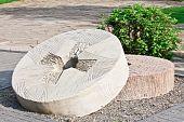 Decorative Carved Millstones