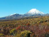 Mount Ngauruhoe and Mount Tongariro, New Zealand