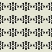 art black graphic geometric seamless pattern, square background with elegant ornament in art deco style