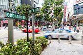 Singapore Landmark: Orchard Road