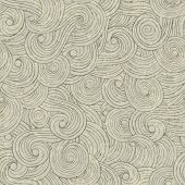 Abstract waves background vintage hand drawn pattern wavy background old paper grunge texture.