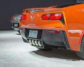 Two 2015 Chevrolet Corvettes