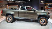 2015 Chevrolet Colorado ZR2 Concept