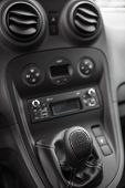 pic of gear-shifter  - view of the manual gearbox - JPG