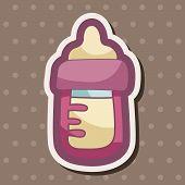 picture of feeding  - Feeding Bottle Theme Elements - JPG