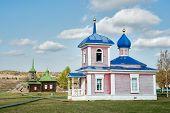 pic of chapels  - Nizhnaya Sinyachikha - JPG
