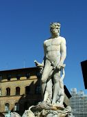 Alte Florenz Italien Neptun