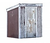 Old Wood Shed or Outhouse