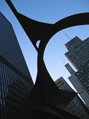 Big Metal Arch, Design And Modern Architecture, Chicago