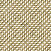 Wooden Lattice Pattern Seamless Background