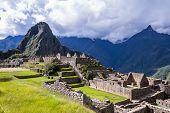 Machu Pichu In Peru poster