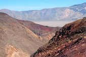 The Beauty And Color Of Death Valley National Park In California, Usa