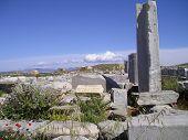 Stoa Ruins Delos