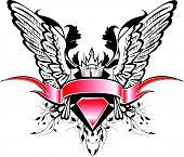 Estandarte e asas
