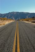 Road In Death Valley, California, Usa