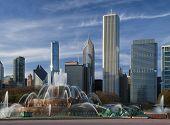 Chicago,Buckingham Fountain