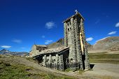 Notre-dame De Toute-prudence Chapel At The Iseran Pass, France