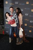 LOS ANGELES - OCTOBER 9: Melissa Rycroft; husband Tye Strickland at the 3rd annual LA Haunted Hayrid