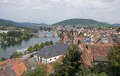 Miltenberg Aerial View In sonnigen Ambiente