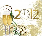 stock photo of new years celebration  - New Year - JPG