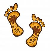 Foots Vector