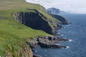 Mykines landscape, Faroe Islands
