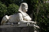 Sphinx In The Park In Bad Langensalza (thuringia, Germany)
