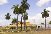 Square Of Trinidad, Cuba