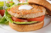 Low Fat Chicken Or Turkey Burger