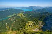 The Attersee In Austria