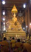 Praying Buddhist Monks