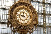 Clock At The Orsay Museum, Paris, France