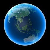 Planet Earth - Asia & Oceania
