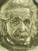 ISRAEL - ca. 1968: Albert Einstein