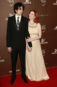 LOS ANGELES - FEB 19: Geoffrey Arend and Christina Hendricks at the 10th Annual Costume Designers Guild Awards held at the Beverly Wilshire Hotel on February 19, 2008 in Beverly Hills, California.