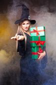 Witch With Presents
