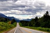 road in Jasper national park