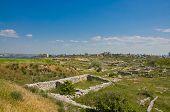 Jutlandia cerca de Sebastopol, en Crimea, Ucrania.