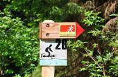 Nordic Walking Sign
