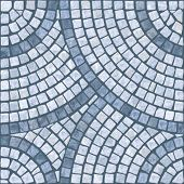 Blue marble-stone mosaic texture. (High.res.)