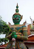 Thai statue in Wat Pho temple