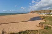 Freshwater Beach Dorset Near West Bay Jurassic Coast poster