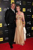 LOS ANGELES - JUN 23:  John McCook, Laurette Spang McCook arrives at the 2012 Daytime Emmy Awards at Beverly Hilton Hotel on June 23, 2012 in Beverly Hills, CA