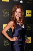 LOS ANGELES - JUN 23:  Tracey E Bregman arrives at the 2012 Daytime Emmy Awards at Beverly Hilton Ho