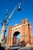 Arco del Triunfo Barcelona Triumph Arch Arc de Triomf