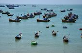Fishing vessel in Mui Ne, Vietnam