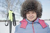 Woman Tourist Skier3